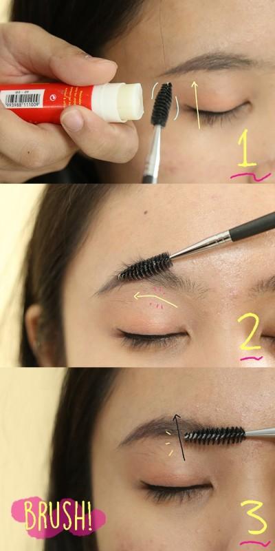 Cara Membuat Alis Yang Lagi Tren Bushy Eyebrows