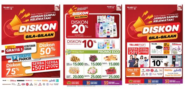 Promo Gila Gilaan Dari Bank Mega Transmart Kidcity